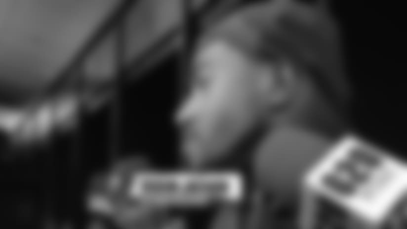 DeSean Jackson on Catching Deep Passes | Bucs Press Conference