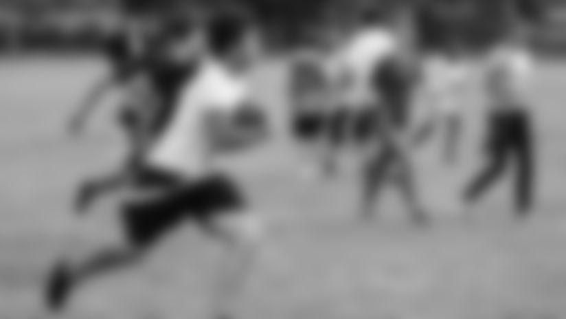 Photos from Jr. Bucs Middle School Flag Football Visit   Oak Grove