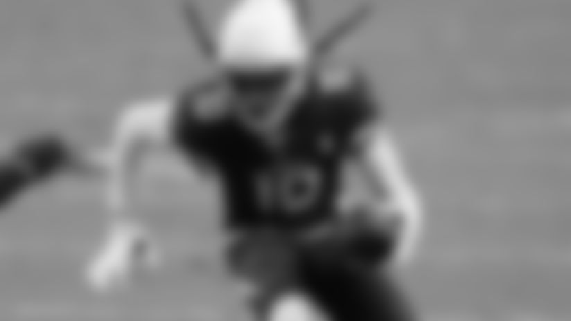 Arizona Cardinals wide receiver DeAndre Hopkins (10) against the Detroit Lions.