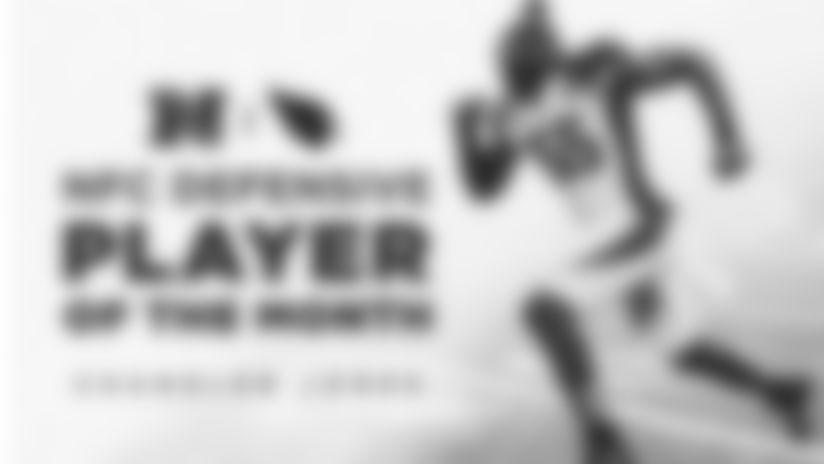 Chandler Jones - Defensive Player Of The Month