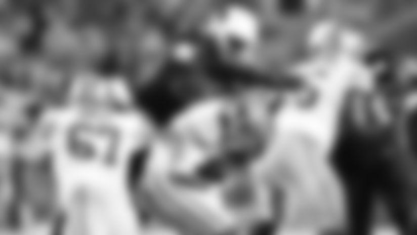 Linebacker Chandler Jones sacks 49ers quarterback Jimmy Garoppolo in a game last week.