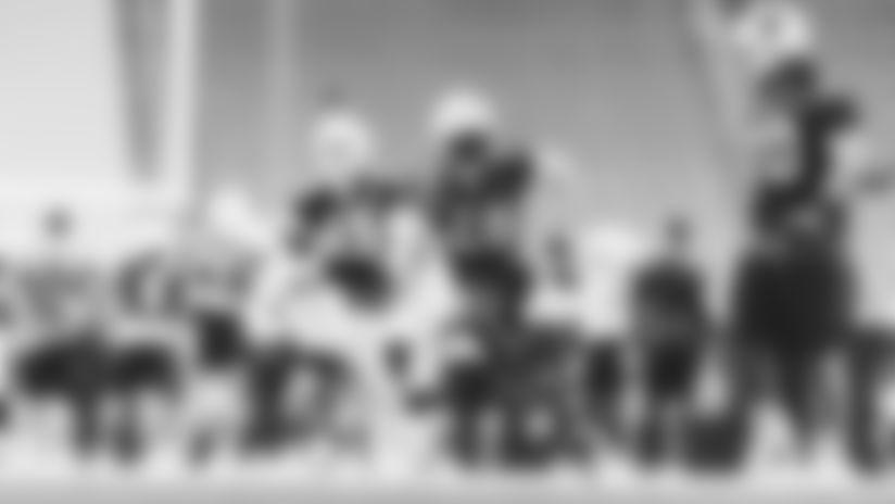 Arizona State running back Eno Benjamin during training camp practice on August 16, 2020.