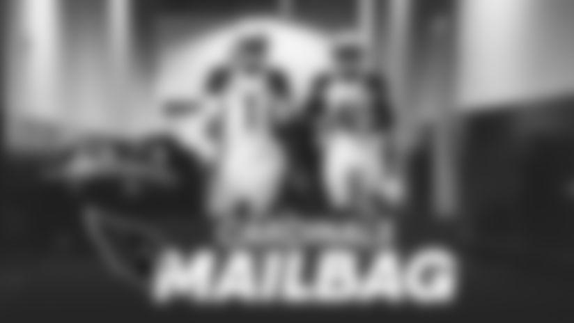 Kyler Murray Kenyan Drake in tunnel mailbag 010521