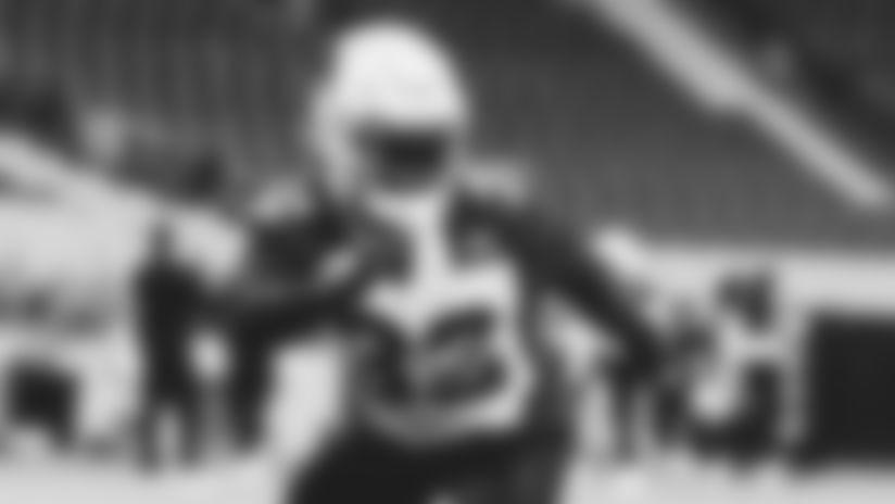 Arizona Cardinals safety Budda Baker during training camp practice on Thursday, August 13, 2020.