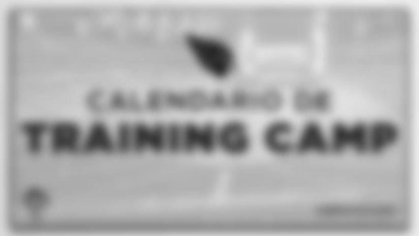 Cardenales publican calendario del training camp 2019