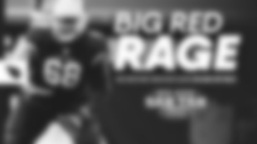 Big Red Rage - 'Big Brother' Beachum Leads On And Off Field