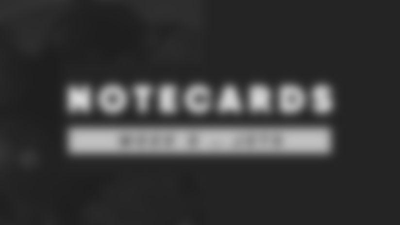 NoteCards 2020 Week 5 Arizona Cardinals at New York Jets