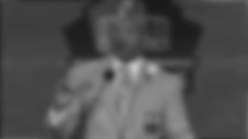 Aeneas Williams Pro Football Hall of Fame Speech