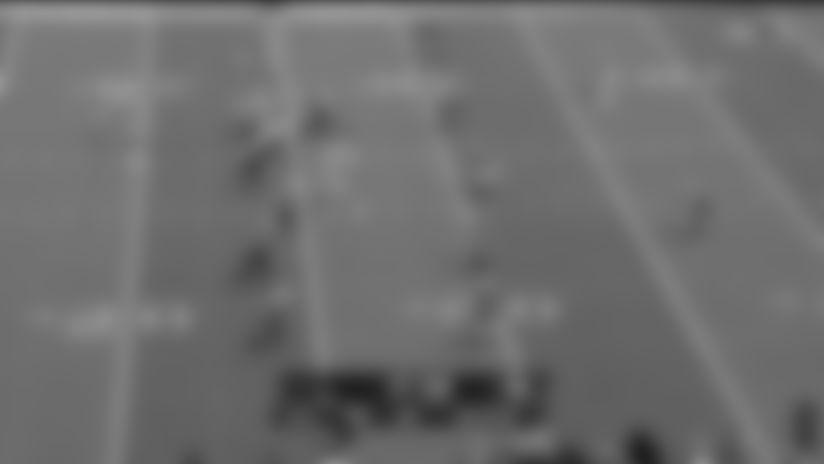 Edmonds Scampers For 20 Yards