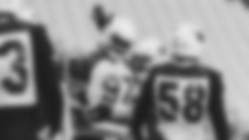 Arizona Cardinals defensive tackle Jordan Phillips at training camp on Friday, August 14th, 2020.