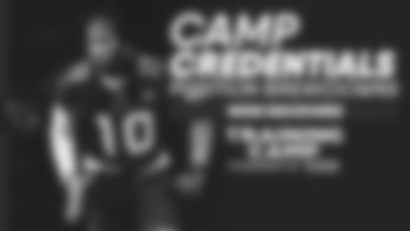 Camp Credentials - Wide Receivers
