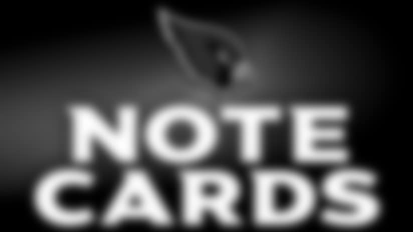NoteCards: Cardinals-Bears