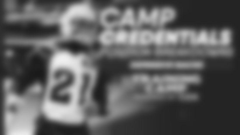 Camp Credentials - Defensive Backs