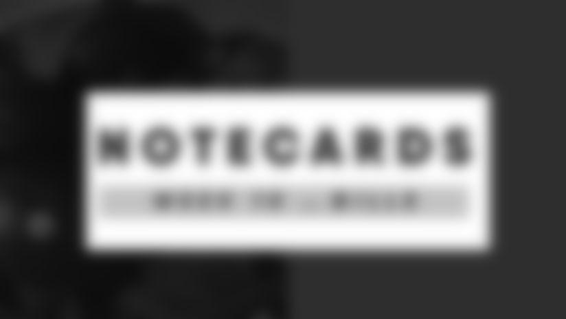NoteCards 2020 Week 10 Buffalo Bills at Arizona Cardinals Promo Image