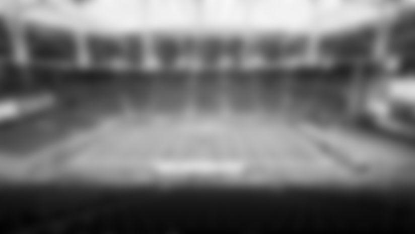 A look at State Farm Stadium before Sunday's regular-season opener against Washington.