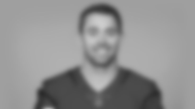 This is a 2020 photo of Andy Lee of the Arizona Cardinals NFL football team.  This image reflects the Cardinals active roster as of 8/1/20 when this image was taken.  (Gene Lower, AP Photo)