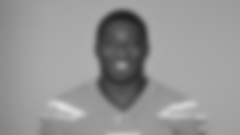 This is a 2019 photo of Tyree St. Louis of the New England Patriots NFL football team. This image reflects the New England Patriots active roster as of Monday, June 3, 2019 when this image was taken. (AP Photo)