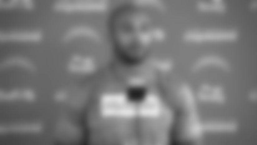Austin Ekeler on Preparing for Bengals Defensive Line