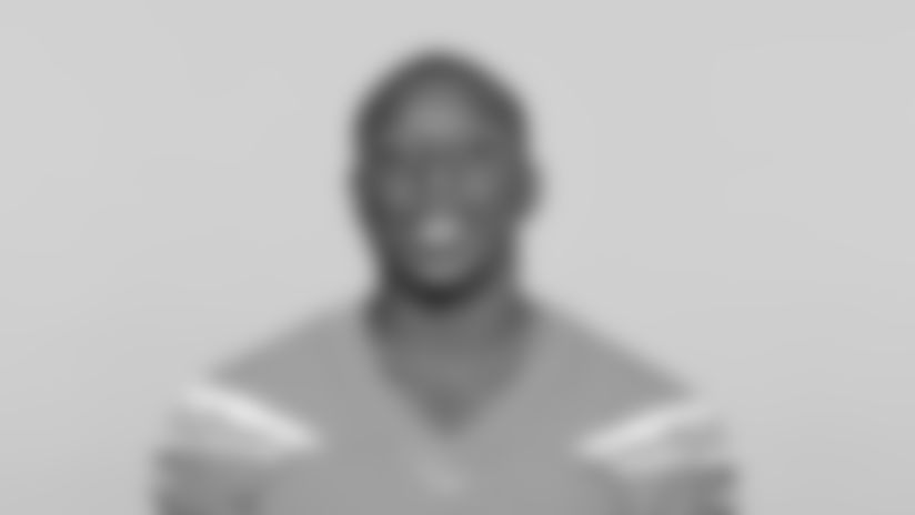 This is a 2019 photo of Derrick Gore of the Los Angeles Chargers NFL football team. This image reflects the Los Angeles Chargers active roster as of Thursday, May 9, 2019 when this image was taken. (AP Photo)