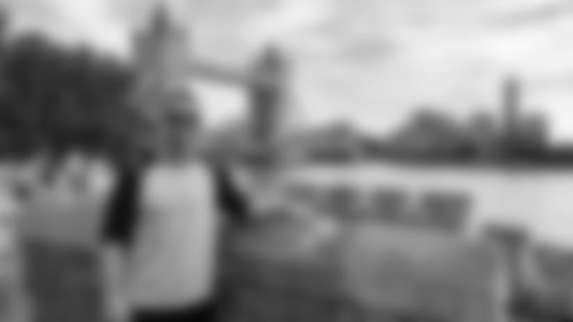 Kyle Emanuel's Tour of London