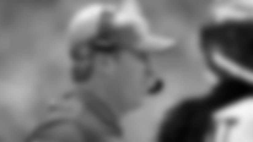 Philadelphia Eagles head coach Doug Pederson follows the second half of an NFL football game against the Kansas City Chiefs in Kansas City, Mo., Sunday, Sept. 17, 2017. (AP Photo/Charlie Riedel)