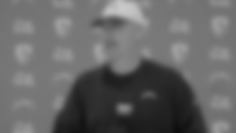 Gus Bradley on the First Day of OTAs