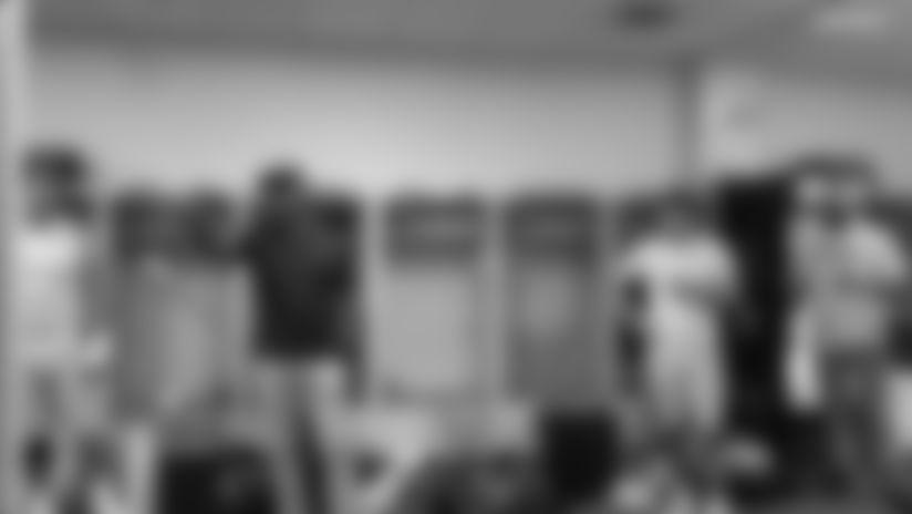 Coach Lynn Postgame Victory Speech in Cincinnati