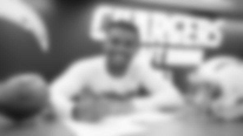 Nasir Adderley Inks Rookie Contract