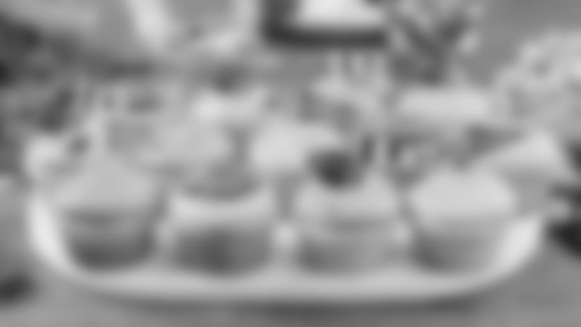 Tailgate Recipe: Gameday Cupcakes