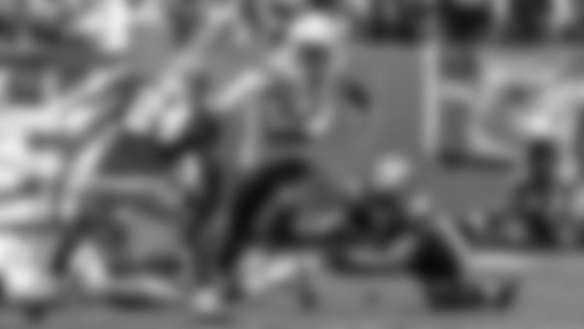 Justin Jackson 17-Yard Cutback Run
