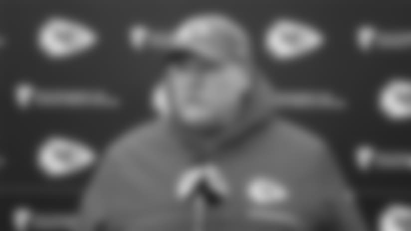 "Andy Reid: ""The guys had a good week of practice"""