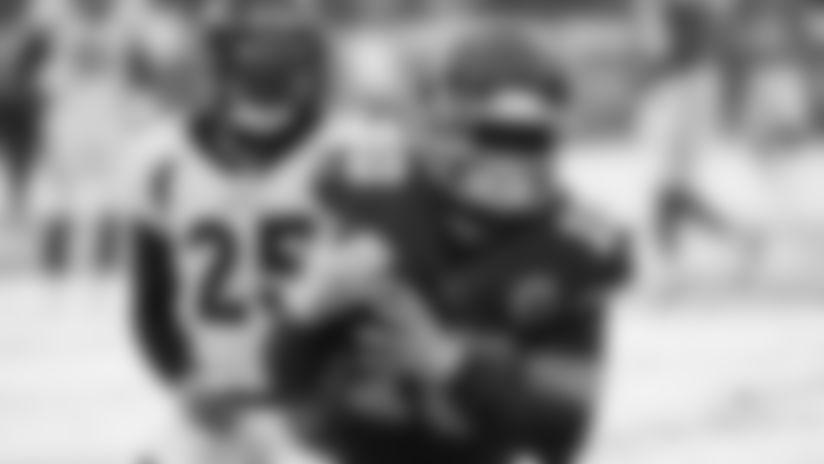 The Kansas City Chiefs take on the Denver Broncos at Arrowhead Stadium on December 15, 2019.