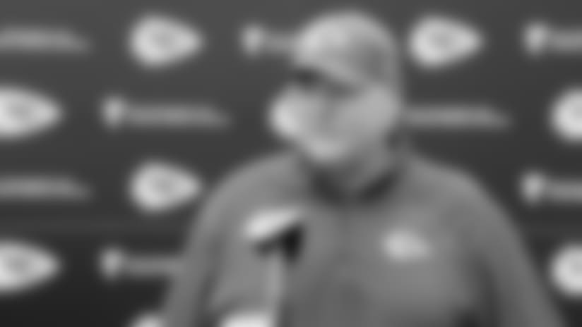 "Andy Reid: ""Our players get fired up at Arrowhead"""