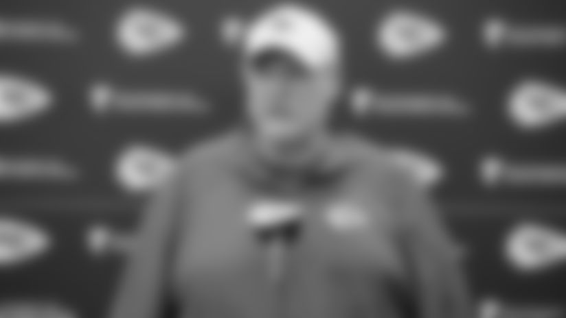 """Andy Reid: """"Both sides of the ball are getting better"""""""