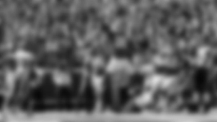 Kansas City Chiefs Running Back Damien Williams (26) during the game between the game between the Kansas City Chiefs and the Houston Texans on October 13, 2019 at Arrowhead Stadium.