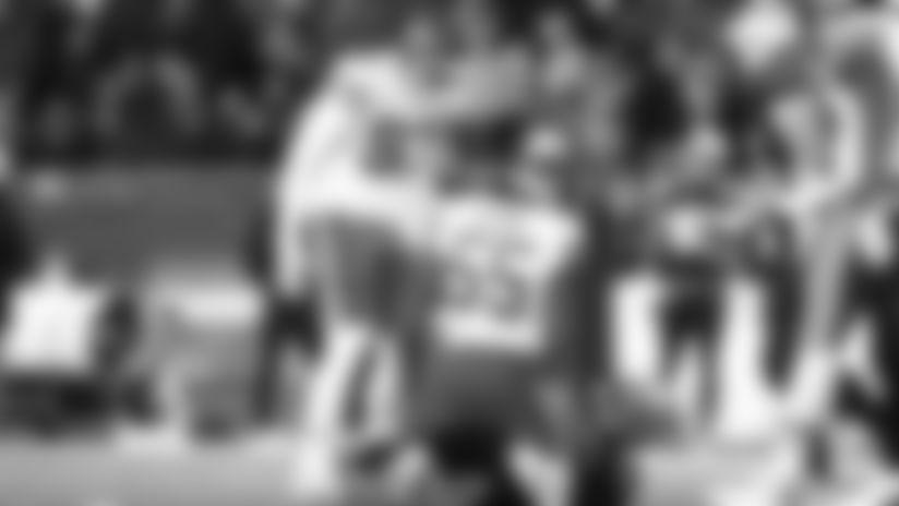 Kansas City Chiefs Defensive End Frank Clark (55) during the game between the Kansas City Chiefs and the New England Patriots on December 8, 2019.