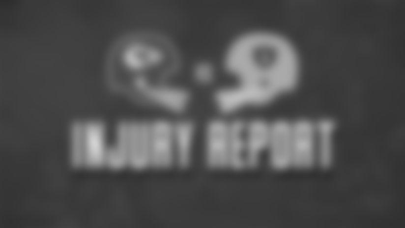 Chiefs vs. Raiders: Injury Report