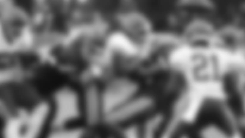 Kansas City Chiefs linebacker Ukeme Eligwe (45) during practice 7/29/18 at Chiefs Training Camp at Missouri Western State University in St Joseph, Missouri