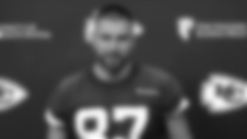"""Travis Kelce: """"Just excited to get out there"""""""