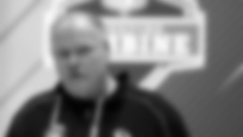 De lo que nos enteramos de parte de Andy Reid en el NFL Scouting Combine