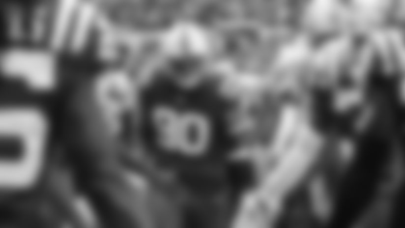 #90 tackle Grover Stewart
