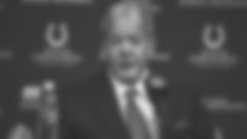 Top Takeaways: Jim Irsay Talks Colts' Offseason, Combine In Indy