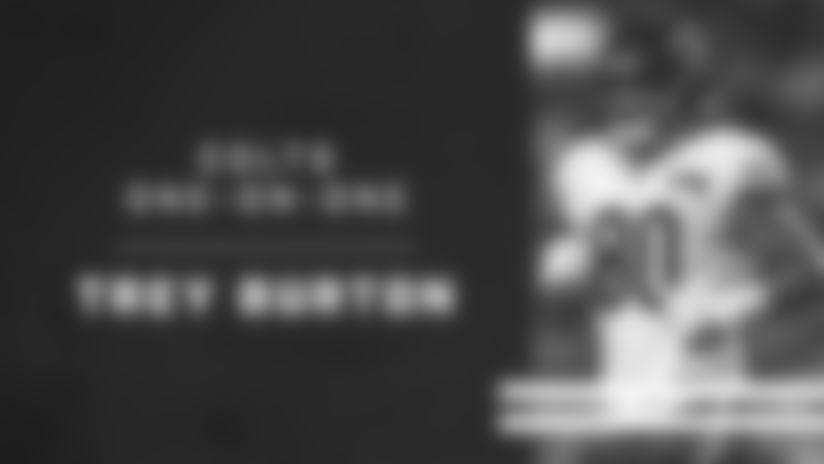 Colts One-On-One: Trey Burton