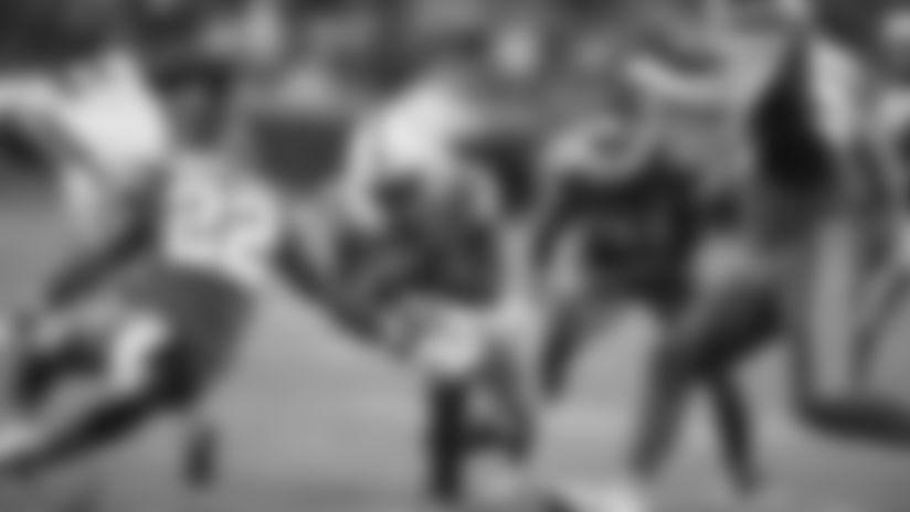 HIGHLIGHT   Marlon Mack Follows Offensive Line For Key Fourth-Down Conversion