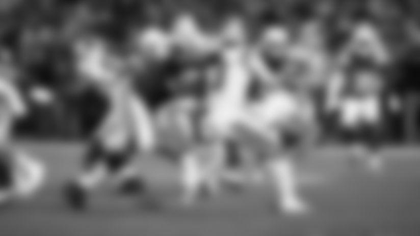 HIGHLIGHT | Grover Stewart Shoots A-Gap To Sack Grier