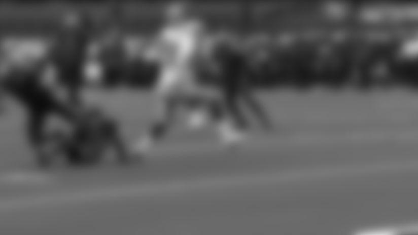 Dak Prescott with a 20-yard touchdown pass to Amari Cooper vs. Cleveland Browns