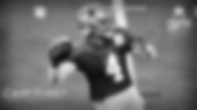 **Dak Prescott**  David Helman: His day technically ended on an interception, but Prescott was impressive before that. I charted him at 15-of-19 on the day during team period, completing passes to 10 different receivers – including multiple tight ends and running backs. During the first two-minute drill, he guided the offense into position for a game-winning field goal. The next go-around, he led them 61 yards to the opposing 4-yard line before the defense eventually got the best of him. Still, it was a productive day spreading the ball around.