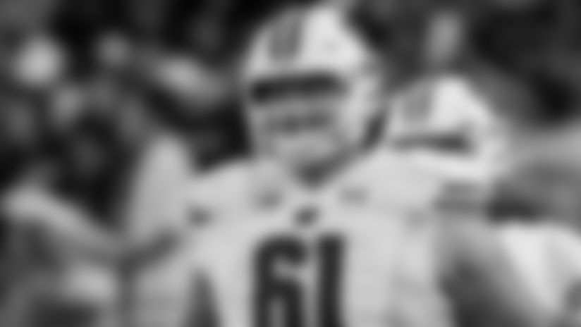 Cowboys Trade Up To Draft Center Biadasz