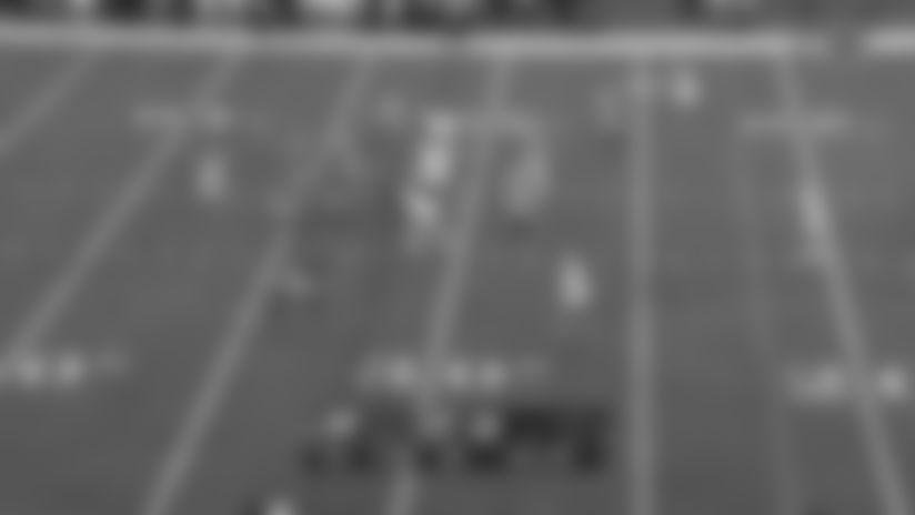 Randy Gregory's strip sack of Jalen Hurts sets Eagles back 13 yards