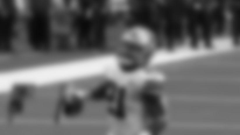 Ezekiel Elliott with a Two Point Conversion vs. Cleveland Browns